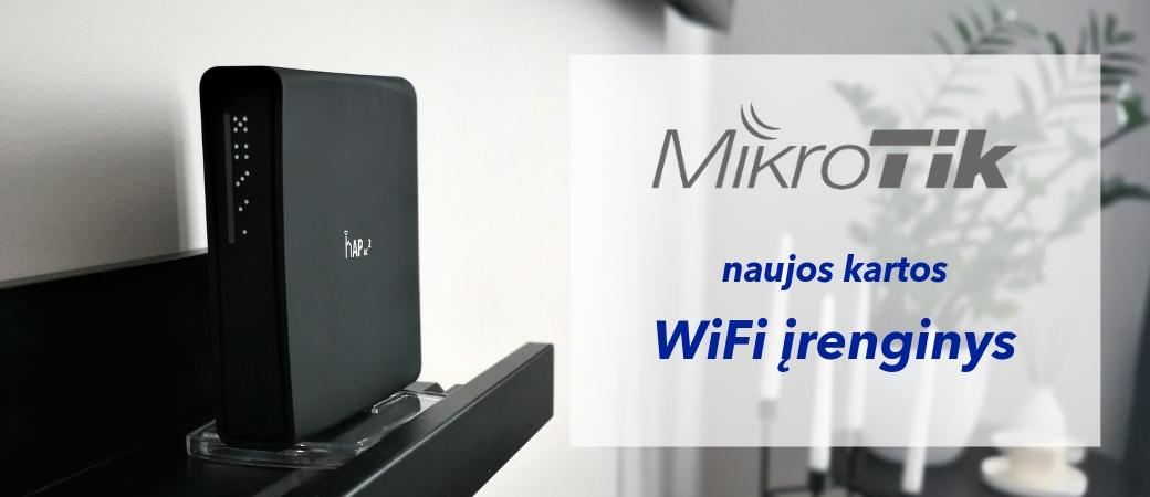 WiFi belaidžio interneto įrenginys