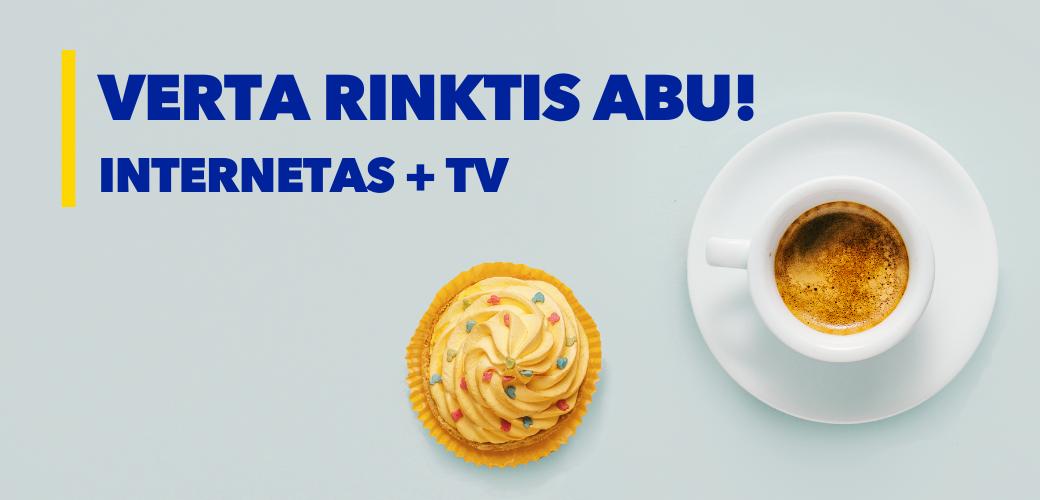 Internetas + TV